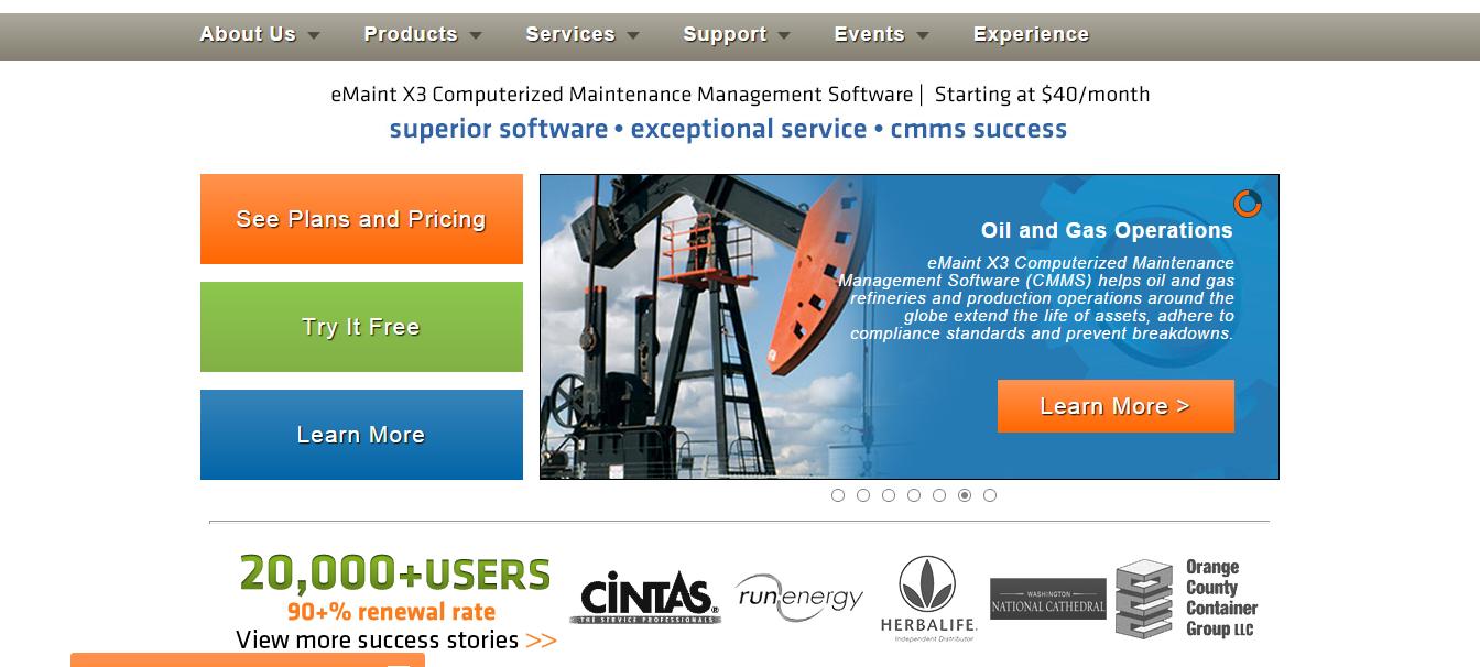 Emaint_homepage