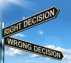 Right Or Wrong Decision